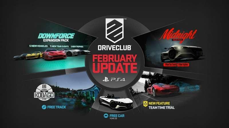 Evolution Studios DRIVECLUB Drive Club 1.1 update sim racing news racing news motorsport news n7thGear  ompRacing