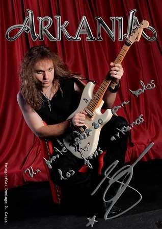Nuevo guitarrista Arkania