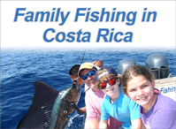 Family Fishing in Costa Rica
