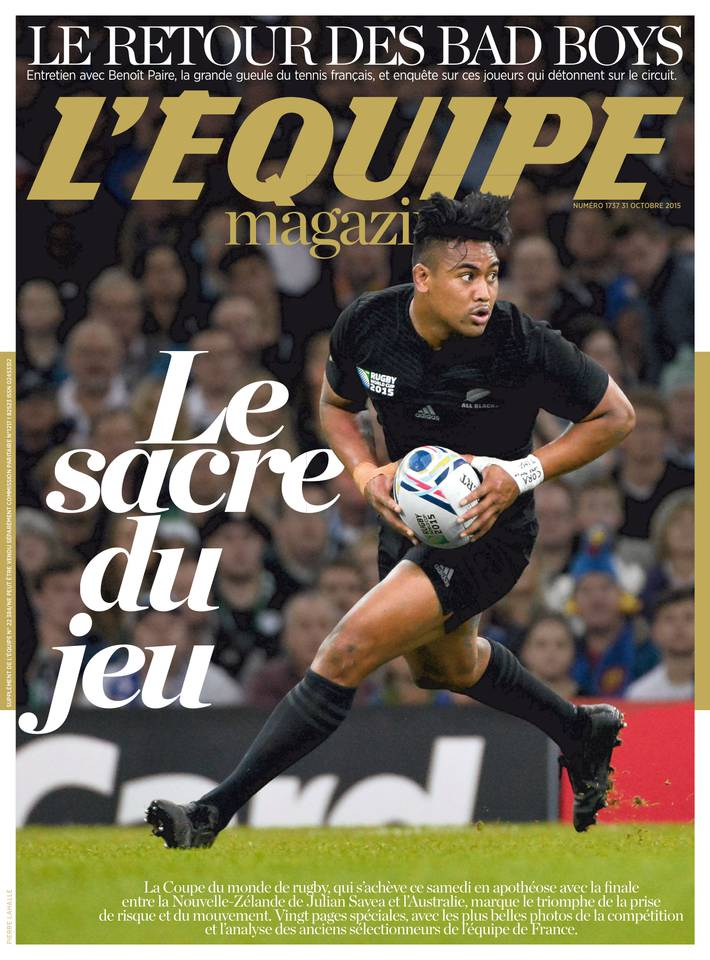 L'Équipe Magazine 1737 su samedi 31 octobre 2015