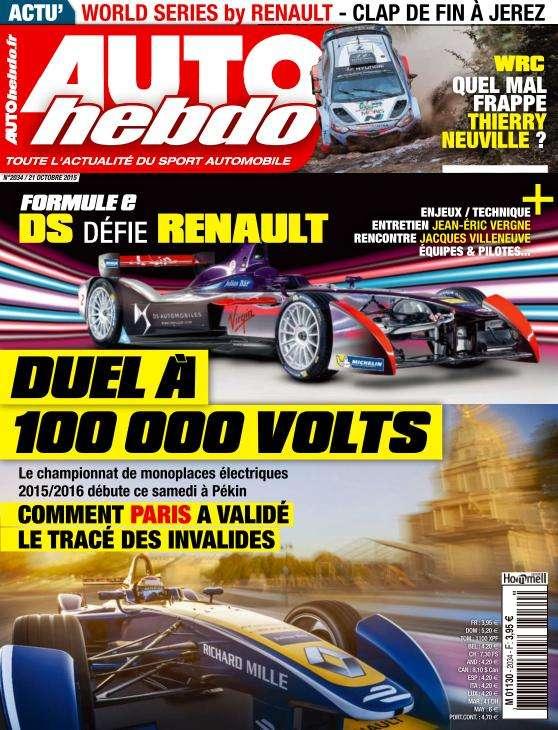 Auto Hebdo - 21 Octobre 2015
