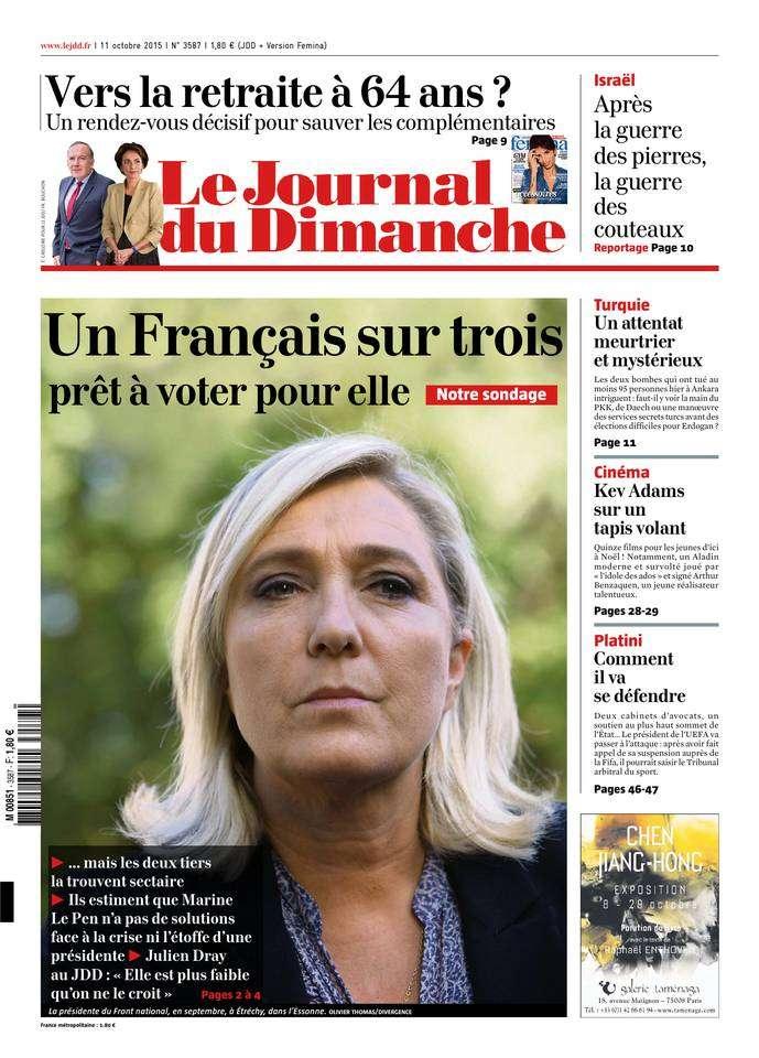 Le Journal du Dimanche - 11 Octobre 2015