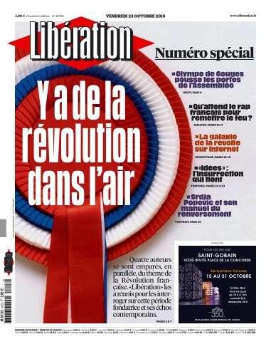 Libération du Vendredi 23 Octobre 2015
