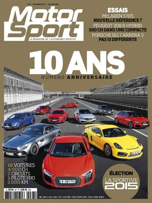 Motorsport 67 - Décembre 2015/Janvier 2016