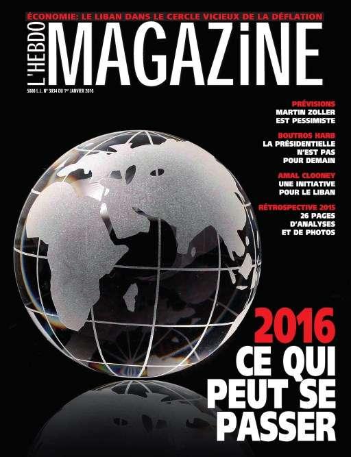 L'Hebdo Magazine 3034 - 31 Décembre 2015 au 7 Janvier 2016