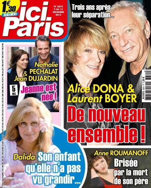 Ici Paris 3675 - 9 au 15 Décembre 2015