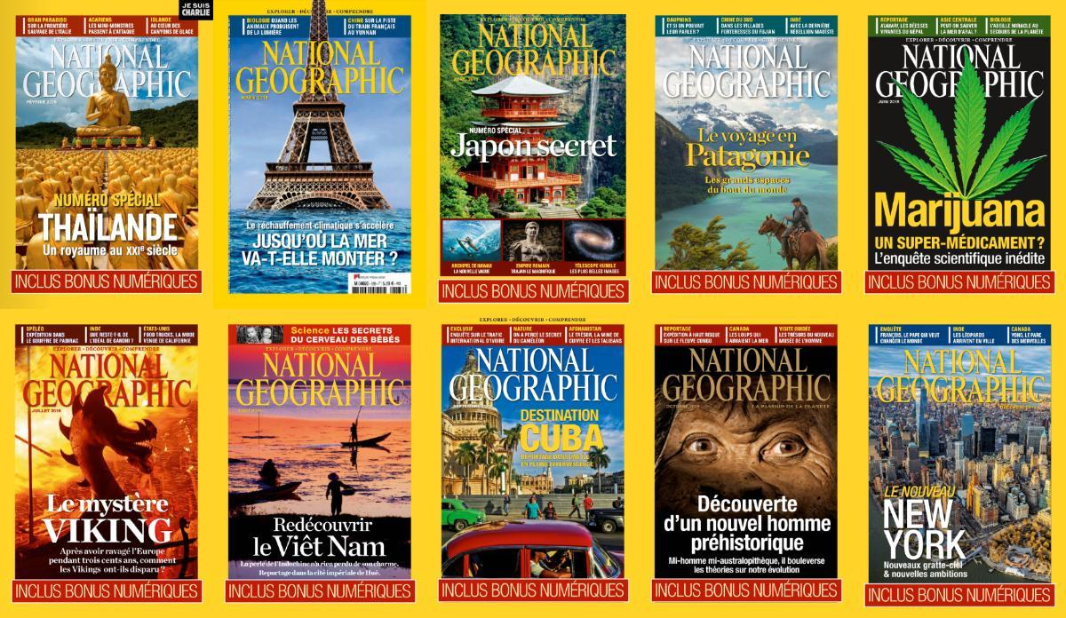 National Geographic France - Full Year 2015 Collection