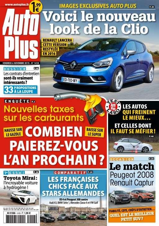 Auto Plus 1418 - 6 au 12 Novembre 2015