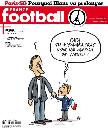 France Football 3630 - 18 novembre 2015