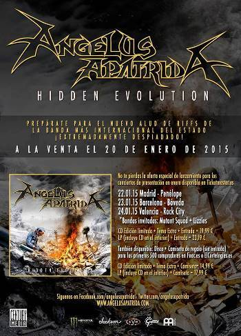 Angelus Apatrida gira presentación cartel
