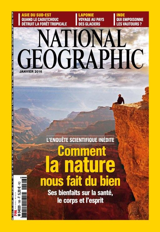 National Geographic 196 - Janvier 2016