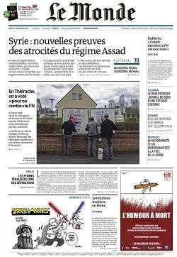 Le Monde et Supplément du Jeudi 17 Décembre 2015