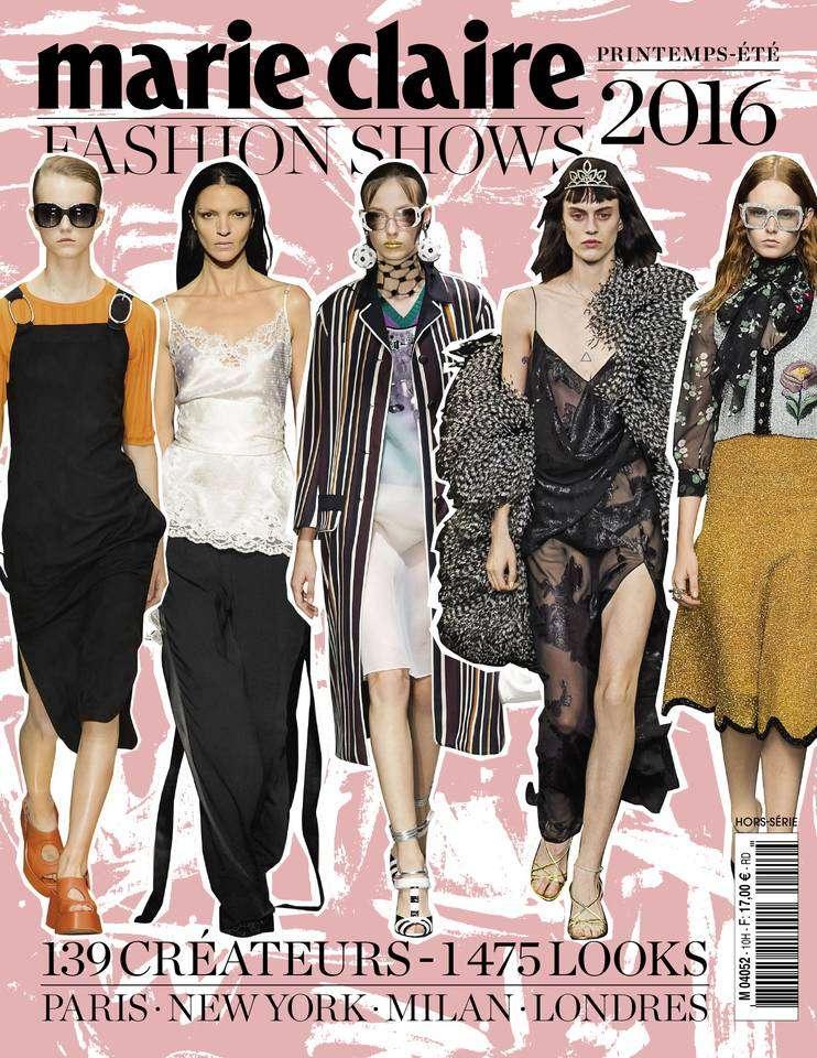 Marie Claire Fashion Shows 10 - Printemps-Été 2016