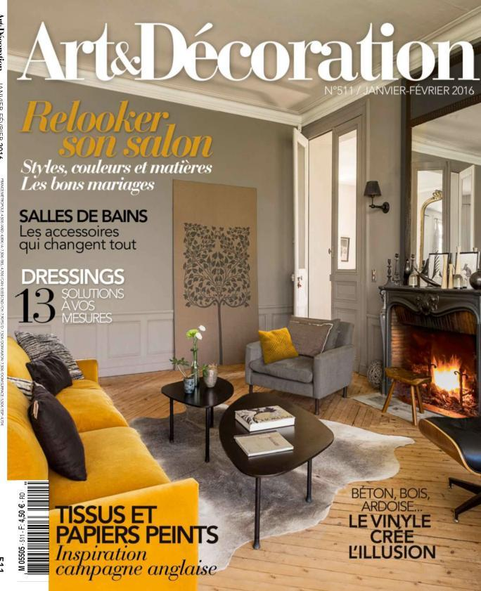 Art & Décoration 511 - Janvier-Février 2016