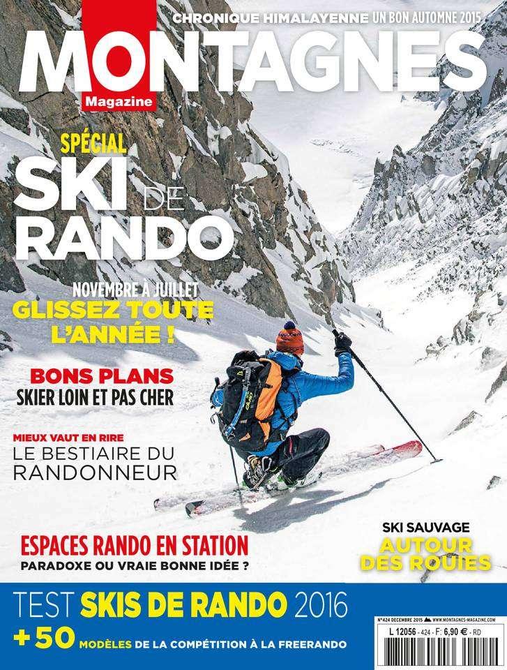 Montagnes Magazine 424 - Décembre 2015