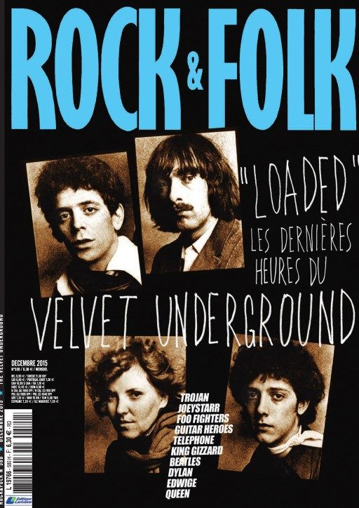 Rock & Folk 580 - Décembre 2015
