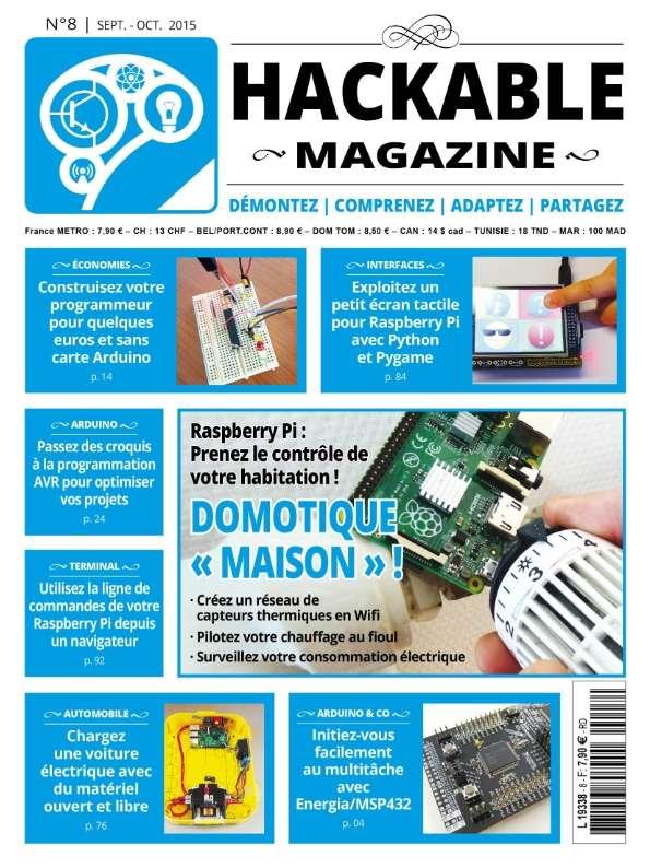 Hackable Magazine 8 - Septembre-Octobre 2015