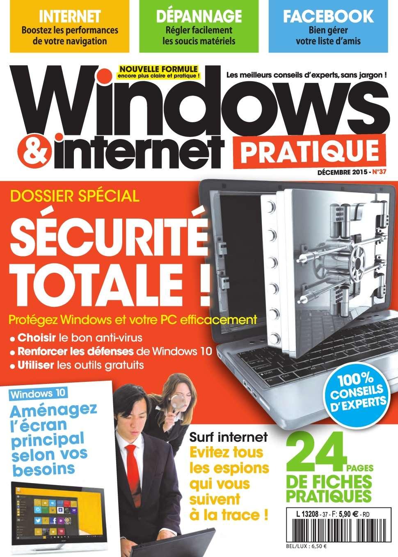 Windows & Internet Pratique 37 - Décembre 2015