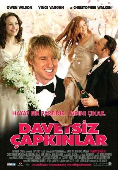 Davetsiz Çapkınlar - Wedding Crashers - 2005 Türkçe Dublaj DVDRip indir