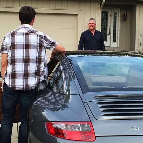 Porsche Pick-Up Service