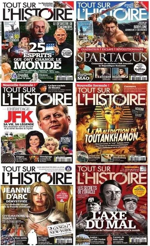 Tout Sur l'Histoire - Collection Annuelle 2015