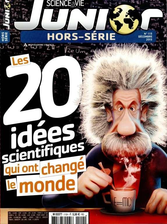 Science & Vie Junior Hors-Série 115 - Décembre 2015