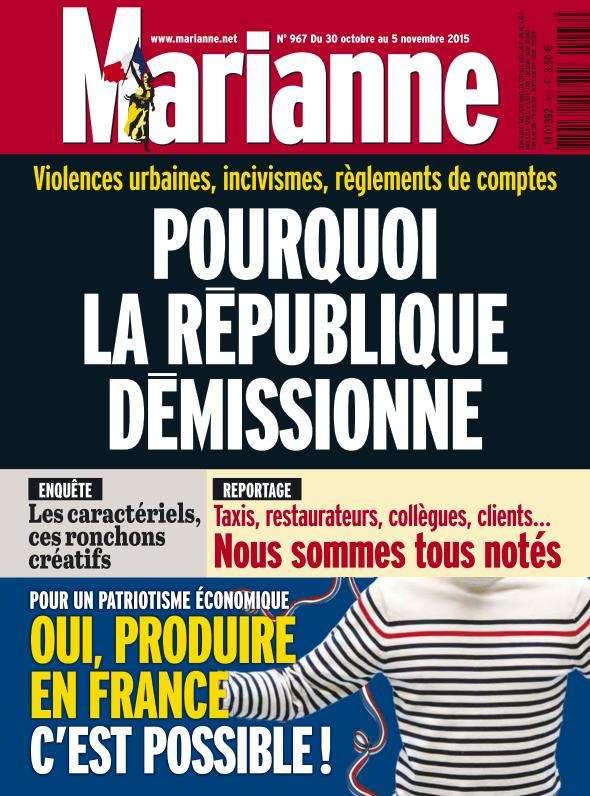 Marianne 967 - 30 Octobre au 5 Novembre 2015