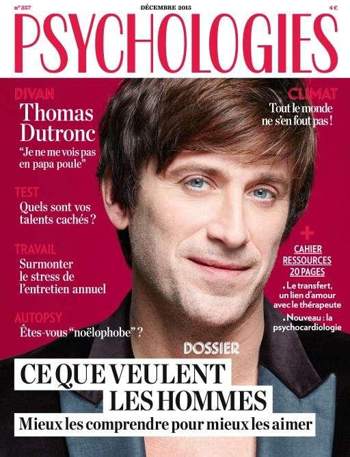 Psychologies magazine 357 - Décembre 2015