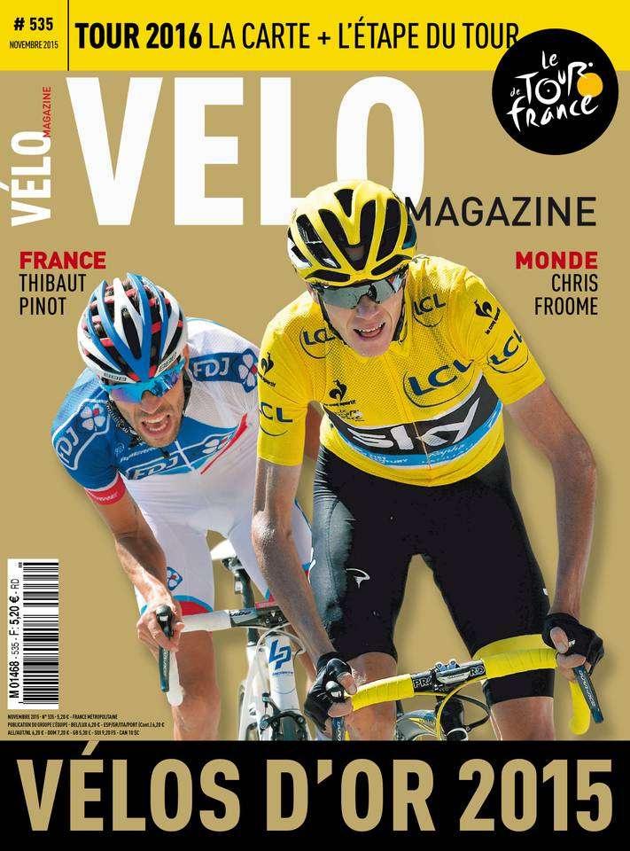 Vélo Magazine - Novembre 2015