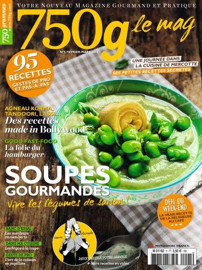 750g Le mag 5 - Soupes Gourmandes