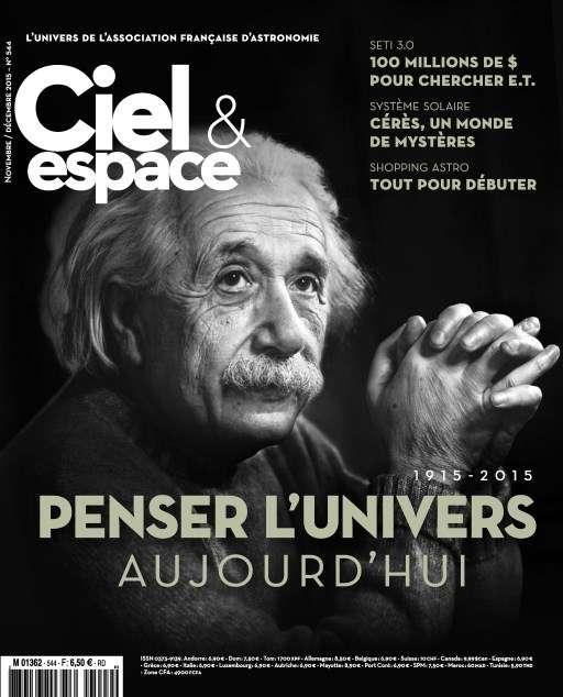 Ciel & Espace 544 - Novembre-Décembre 2015