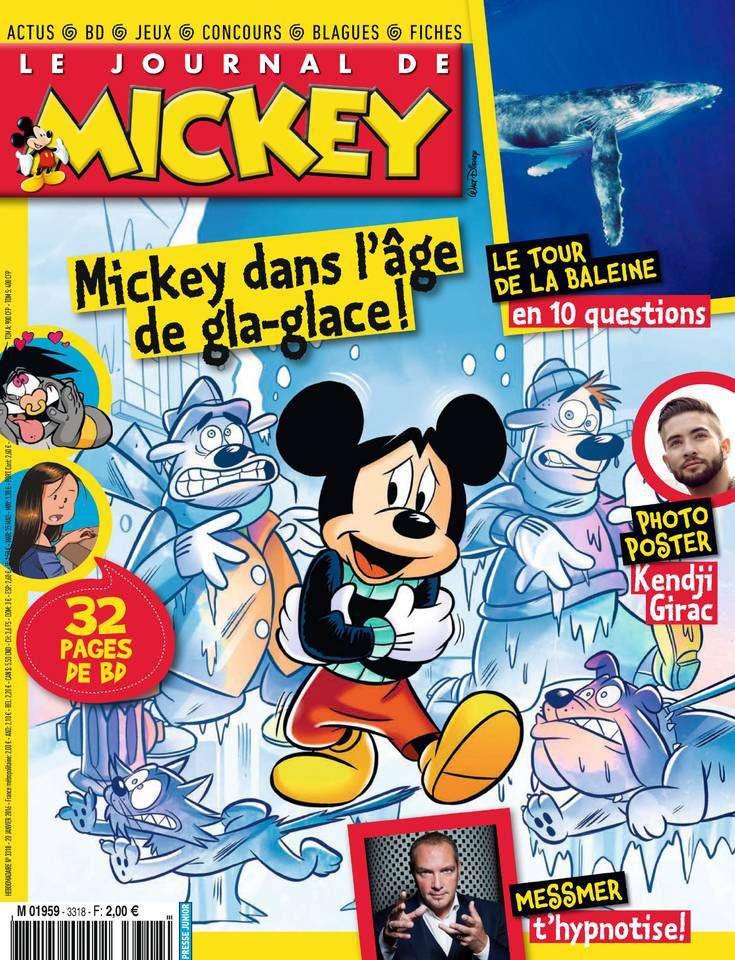 Le Journal de Mickey - 3318 - 20 au 26 Janvier 2016