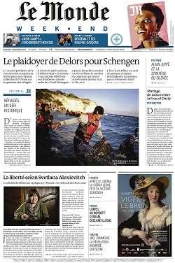 Le Monde Weekend et 3 Suppléments du Samedi 7 Novembre 2015