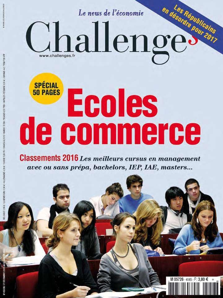 Challenges 458 - 17 au 23 Décembre 2015
