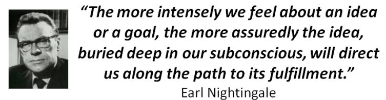 Earl Nightingale Goals Quote