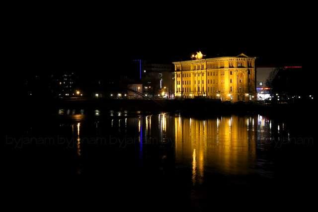 Hameln bei Nacht - Pfortmühle