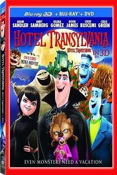 Hotel Transylvania - 2012 3D BluRay m1080p H-SBS Türkçe Dublaj MKV indir