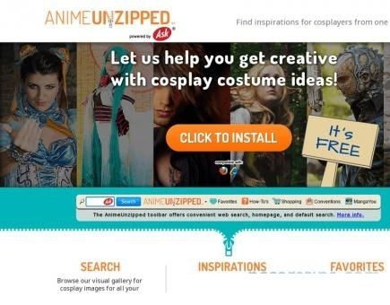 AnimeUnzipped Toolbar