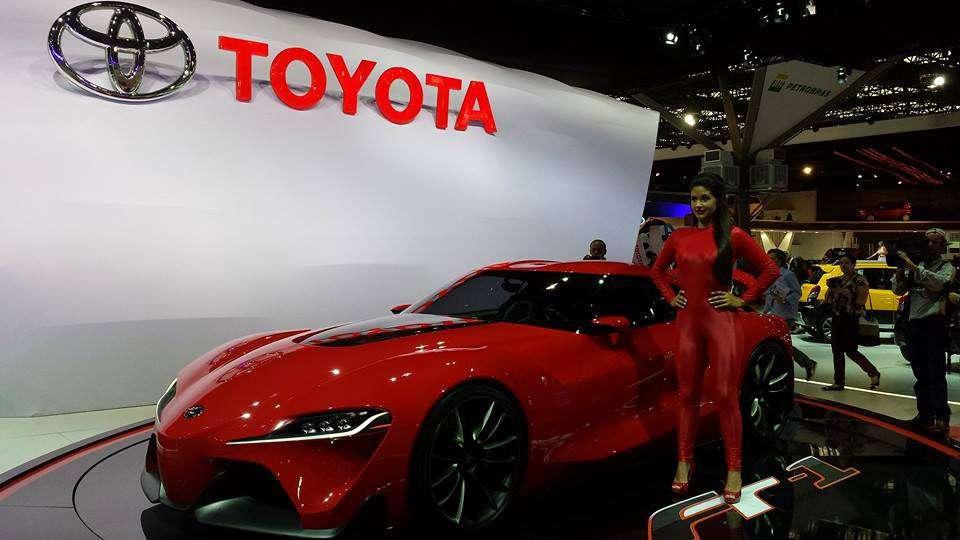 Toyota FT-1 Salão do Automóvel de São Paulo 2014