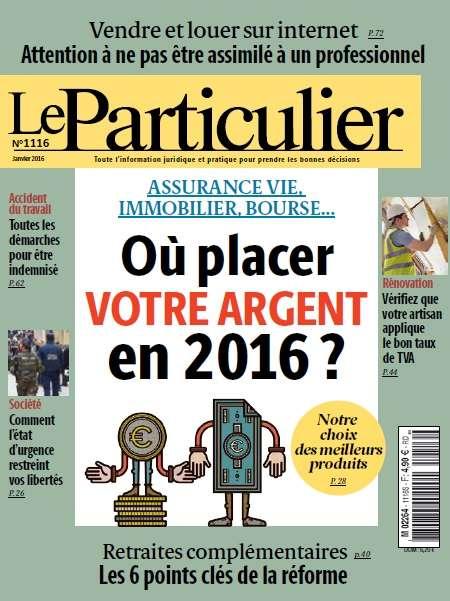 Le Particulier 1116 - Janvier 2016