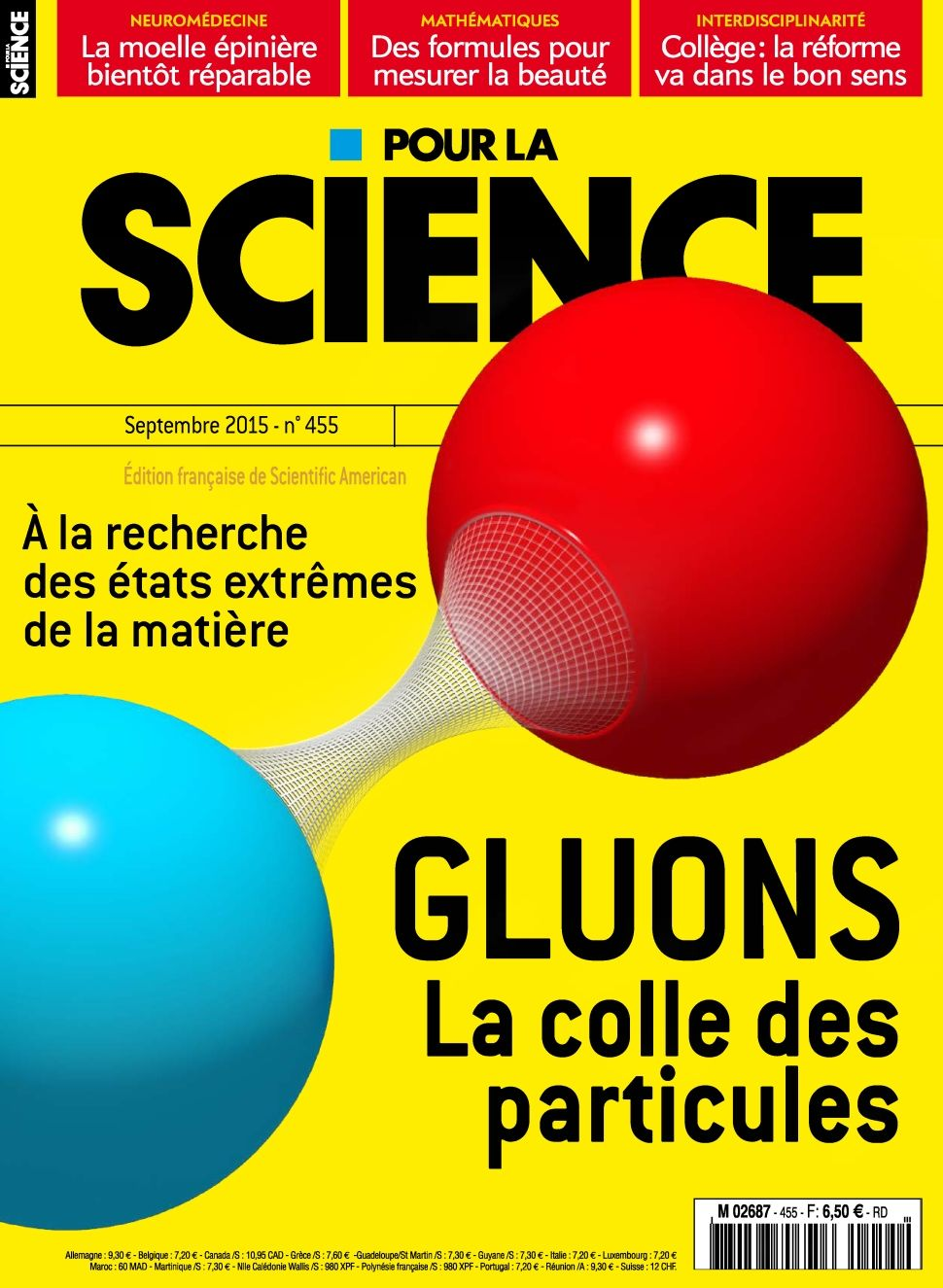 Pour la Science 455 - Septembre 2015