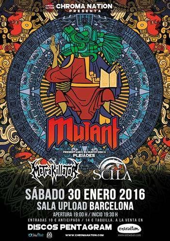 Mutant Barcelona cartel