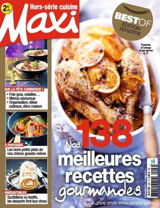 Maxi Hors-Série Cuisine 26 - Novembre 2015 - Janvier 2016