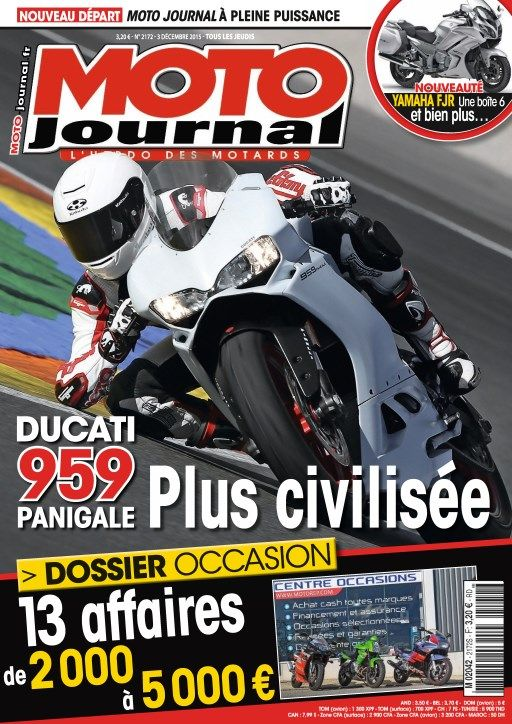 Moto Journal 2172 - 3 au 9 Décembre 2015