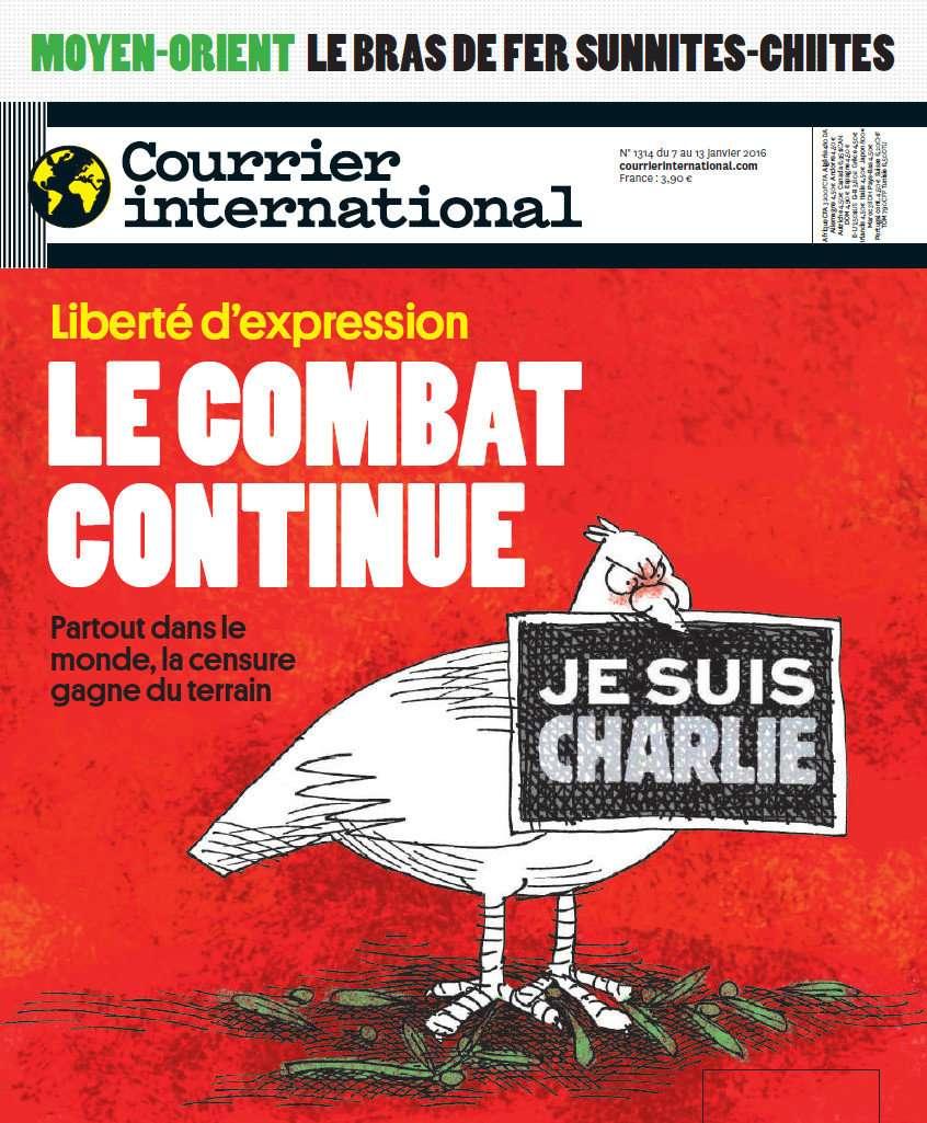 Courrier international 1314 du 8 au 14 janvier 2016