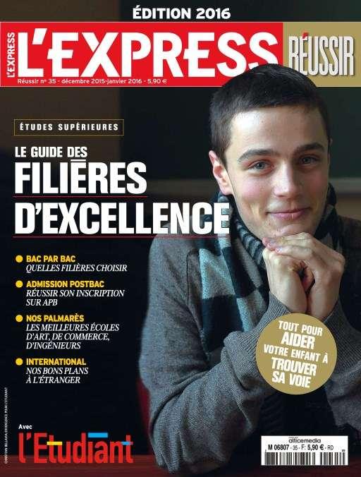 L'Express Hors-Série Réussir 35 - Décembre 2015/Janvier 2016
