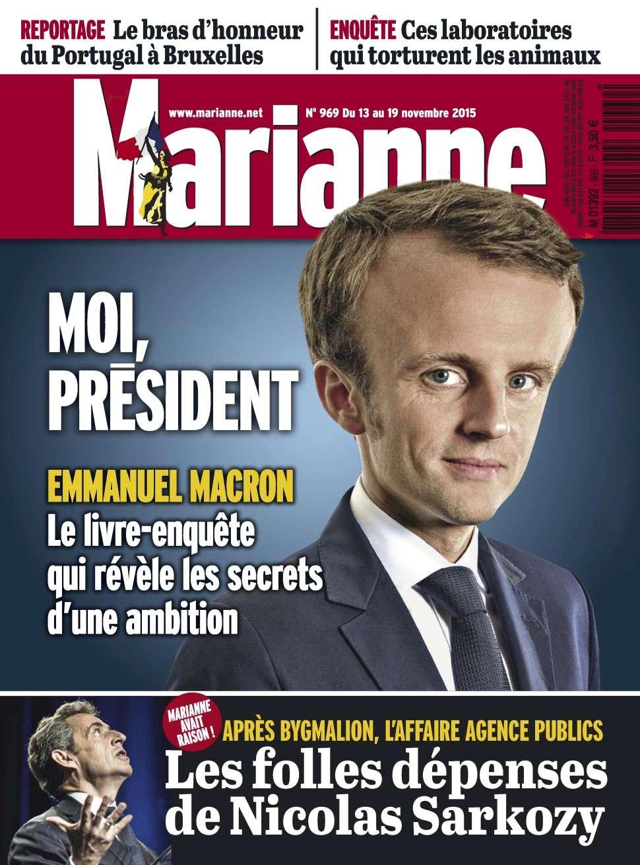 Marianne 969 - 13 au 19 Novembre 2015