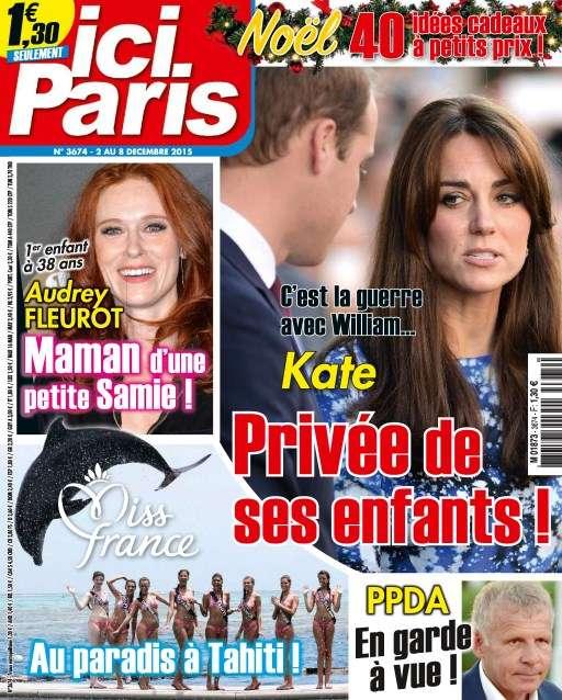 Ici Paris 3674 - 2 au 8 Décembre 2015