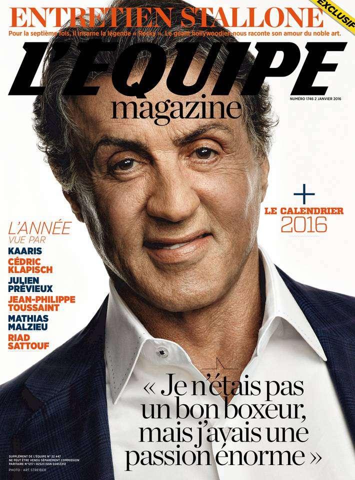 L'Equipe Magazine - 2 Janvier 2016