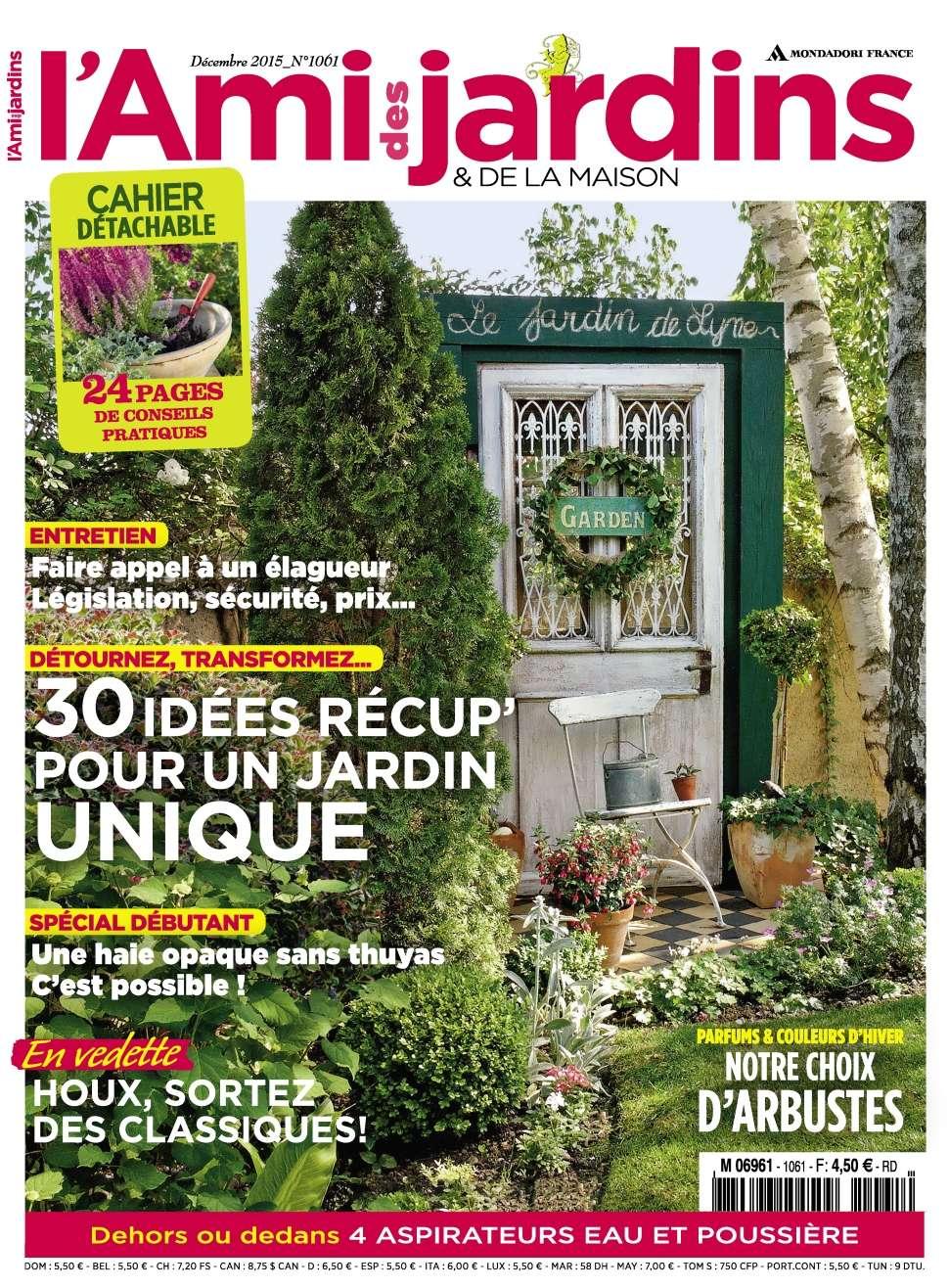 L'Ami des Jardins 1061 - Decembre 2015